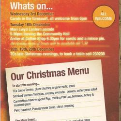 Christmas at Pennard & Three Cliffs Coffee Shop